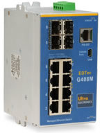 EOTec G408M Managed Gigabit Ethernet Switch