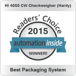 Hardy HI 4050CW Checkweigher Award